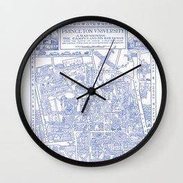 PRINCETON university map NEW JERSEY dorm decor Wall Clock