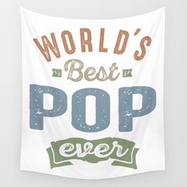 World's Best Pop Wall Tapestry