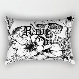 Rave On Rectangular Pillow