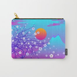 japanese cherry blossom Carry-All Pouch