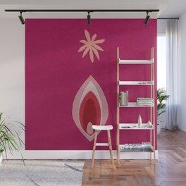 de Flower [pink] Wall Mural