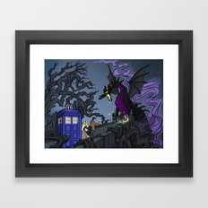 And Now You Will Deal with ME, O' Doctor Framed Art Print