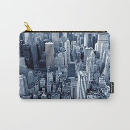 Modern City Buildings And Skyscrapers Carry-All Pouch
