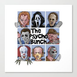 The Psycho Bunch Canvas Print