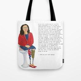 Senator Tammy Duckworth Tote Bag
