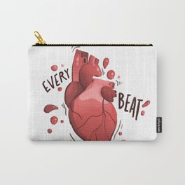 heart beat Carry-All Pouch