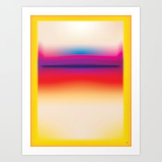 Tall Rothko Art Print