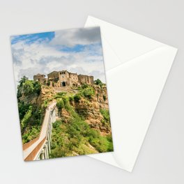 Village in the clouds Stationery Cards
