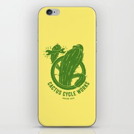 Cactus Cycle Works iPhone Skin
