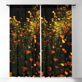 Beautiful garden flowers Blackout Curtain