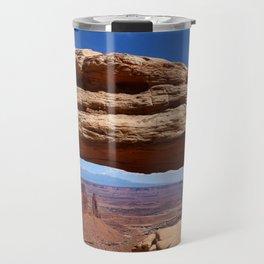 Mesa Arch View Travel Mug