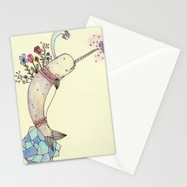Narwhale Garden Stationery Cards