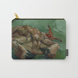 Crab on its Back Carry-All Pouch