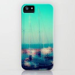 Sailing Harbor at Lake Balaton iPhone Case