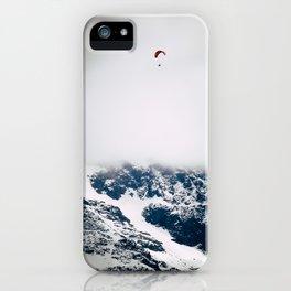 Paragliding iPhone Case