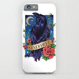 Nevermore Raven iPhone Case