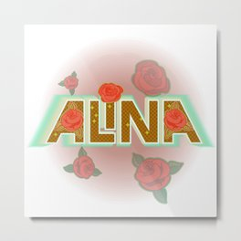 Alina Metal Print