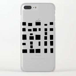 Organic Minimalism 2 #design #society6 #decor #buyartprints Clear iPhone Case