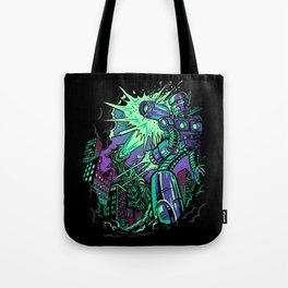 Pacific Retro Tote Bag