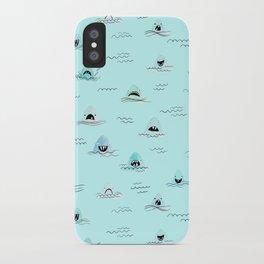 Sharkhead - Shark Pattern iPhone Case
