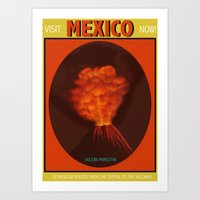 mexico Art Prints featuring Mexico by TheGretest