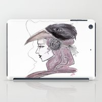 headdress iPad Cases featuring Headdress by Avedon Arcade