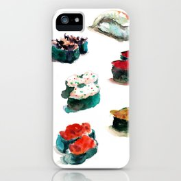 I love Sushi iPhone Case