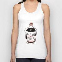 pills Tank Tops featuring Mean Pills  by Christopher Chouinard