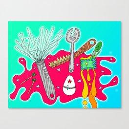 #110: Kitchen Appliances Go Rogue Canvas Print