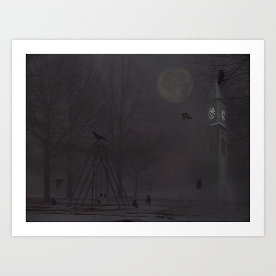 The Clock Tower Art Print