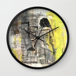 Don't Leave Me Alone Wall Clock