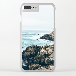 Standing on the Coast Clear iPhone Case