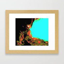 Candel Framed Art Print