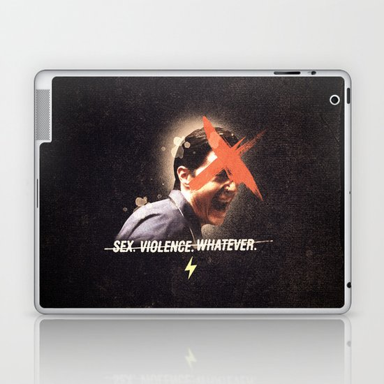 Black Mirror | Dale Cooper Collage Laptop & iPad Skin