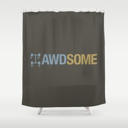 AWDSOME v7 HQvector Shower Curtain