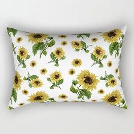 Sunflowers pattern Rectangular Pillow