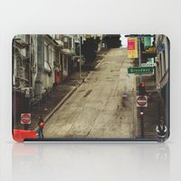 broadway iPad Cases featuring Broadway by Laney Vela