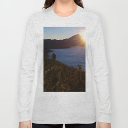 Sunset Canary Islands forest and Volcano Teide in Tenerife Long Sleeve T-shirt