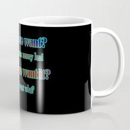 "Funny ""Short Term Memory"" Joke Coffee Mug"
