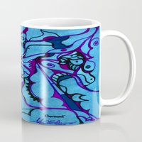 carousel Mugs featuring Carousel by Art by Mel
