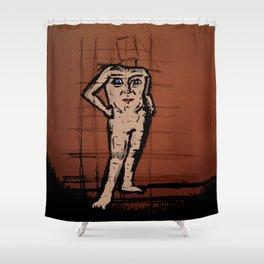 blemmyae Shower Curtain