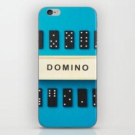 Domino pieces iPhone Skin