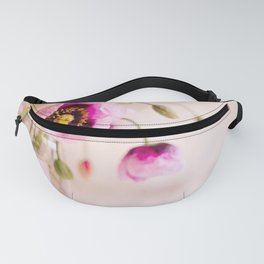 Pink Wild Poppies Fanny Pack