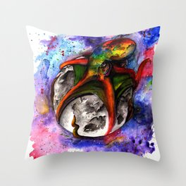 Mooncrusher Throw Pillow