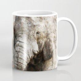 Elephant Pair Coffee Mug