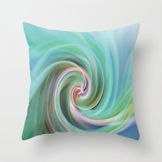 Whirl #1 Throw Pillow