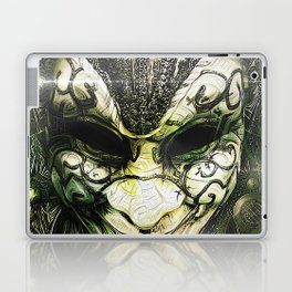 Venice -- A Fractal Dream in the City of Masks Laptop & iPad Skin