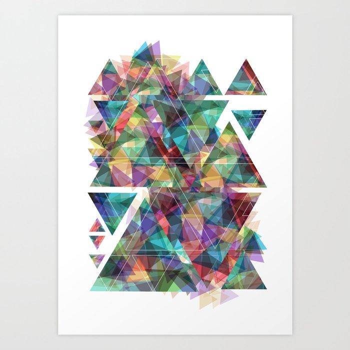 shattered Art Print
