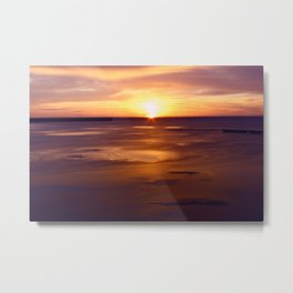 Not Your Average Sunset Metal Print
