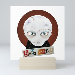 Save me Mini Art Print